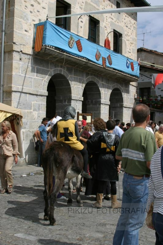 XV Mercado Medieval de Artziniega.  Mercado de Antaño 2012. (2/2)