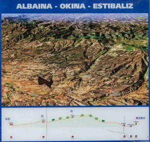 GR-38.  3ª etapa Albaina-Estibaliz
